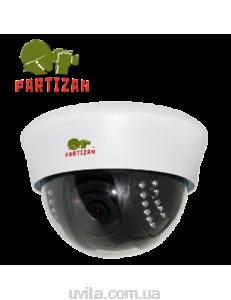 AHD видеокамера купольная Partizan CDM-VF33H-IR HD v4.0